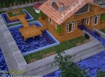 فروش زمین شهرکی/اسکله شخصی/سازه چوبی  در شیپور-عکس کوچک