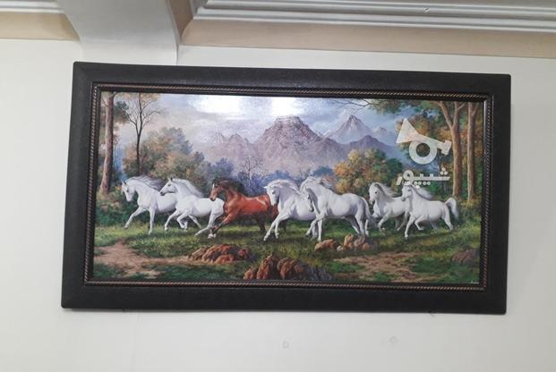 تابلو اسب کاملا نو و زیبا  در گروه خرید و فروش لوازم خانگی در تهران در شیپور-عکس1