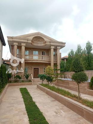 فروش ویلا ددبلکس استخر و سند دار ۳۵۰ متر زمین و ۴ خواب در گروه خرید و فروش املاک در مازندران در شیپور-عکس1