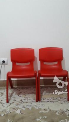 دوتا صندلی کودک پلاستیکی درحد نو  در گروه خرید و فروش لوازم شخصی در تهران در شیپور-عکس1