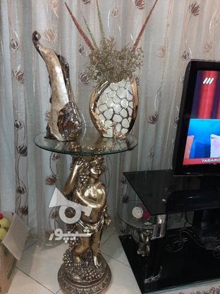 آینه و میز و ساعت .گلدان .ماهی. پایه فرشته در گروه خرید و فروش لوازم خانگی در تهران در شیپور-عکس1
