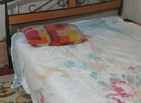 تخت خواب همراه بادوشک طبی مرتب در شیپور-عکس کوچک