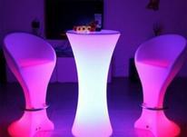 میز سوارز صندلی بار بلک لایت ایستاده بلند ت در شیپور-عکس کوچک