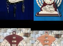 ساعت و تقویم چوبی زیبا در شیپور-عکس کوچک