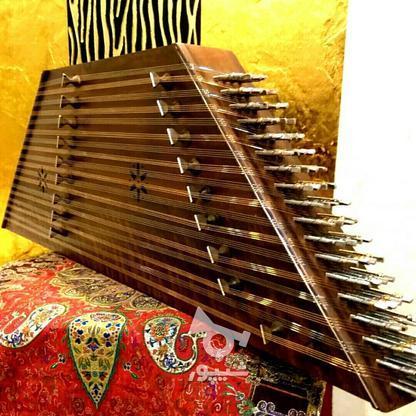 سنتور نو تمام چوب گردو 2 مهر قشلاقی با لوازم در گروه خرید و فروش ورزش فرهنگ فراغت در تهران در شیپور-عکس1