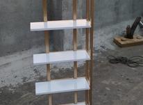استند گل چوبی. فلزی  مدرن  در شیپور-عکس کوچک