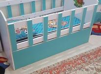 تخت و کمد کودک تمیز و سالم  در شیپور-عکس کوچک