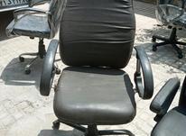 تعدادی صندلی مدیریت جکدار چرم در شیپور-عکس کوچک