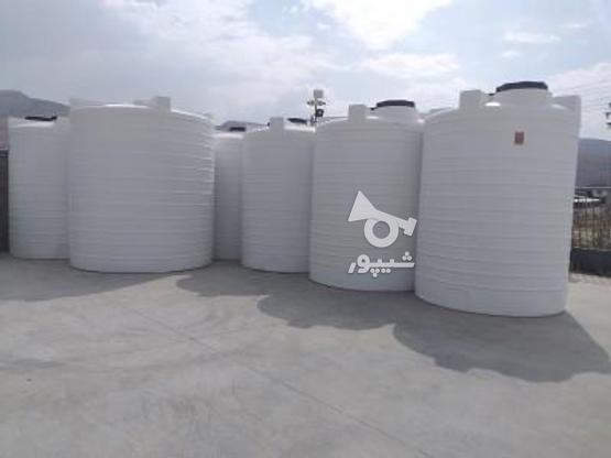 مخزن آب 5/000 لیتری پلی اتیلن - تانکر و منبع و وان آب در گروه خرید و فروش صنعتی، اداری و تجاری در تهران در شیپور-عکس1