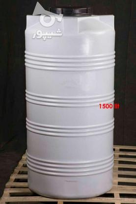 مخزن 1500 لیتری عمودی پلی اتیلن - تانکر و منبع ذخیره آب در گروه خرید و فروش خدمات و کسب و کار در تهران در شیپور-عکس2