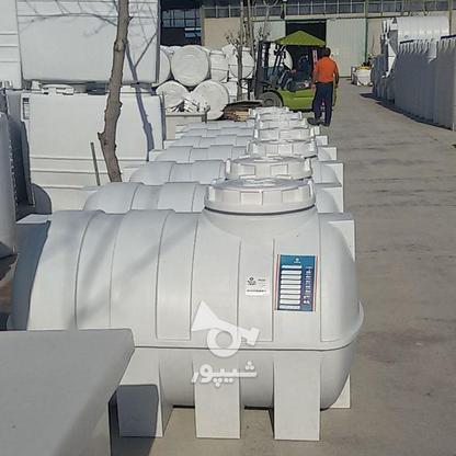 مخزن 2000 لیتری افقی پلی اتیلن - تانکر و منبع و وان آب در گروه خرید و فروش صنعتی، اداری و تجاری در تهران در شیپور-عکس1