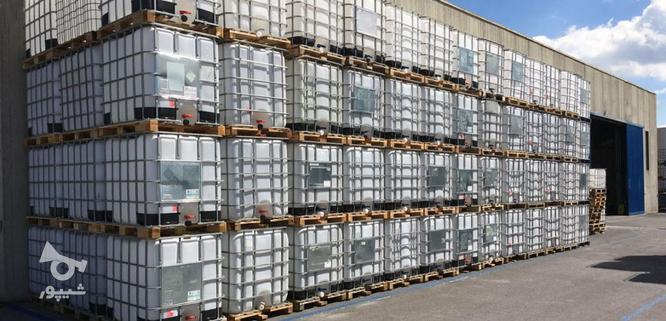 مخزن 1000 لیتری حفاظ دار IBC - تانکر و منبع مکعبی آب  در گروه خرید و فروش خدمات و کسب و کار در تهران در شیپور-عکس4