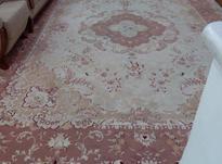 فرش 12متری گل برجسته کرم  در شیپور-عکس کوچک