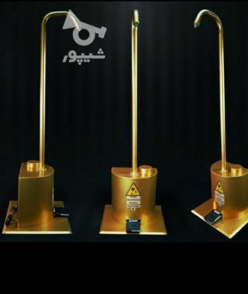 دستگاه ضد عفونی کننده دست پدالی قیمت مخزن 5 لیتری طلایی   در گروه خرید و فروش صنعتی، اداری و تجاری در تهران در شیپور-عکس1