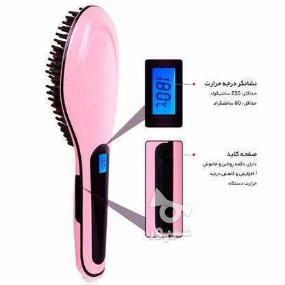 برس حرارتی صاف کننده مو سرامیکی تضمینی 220 درجه گرما  در گروه خرید و فروش لوازم شخصی در تهران در شیپور-عکس1