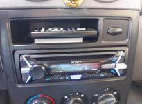ضبط پخش سونی همراه کنترل. در شیپور-عکس کوچک