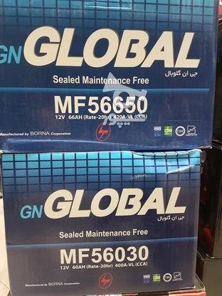 باتری 60 امپر گلوبال کره  در گروه خرید و فروش وسایل نقلیه در تهران در شیپور-عکس1