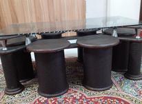 میز عسلی در حد نو با 6 تا پایه در شیپور-عکس کوچک