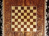 تخته و شطرنج کنده کاری شده در شیپور-عکس کوچک
