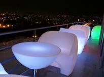 مبل تک نفره مدرن نوری پلی اتیلن منزل اداری کافه رستوران مطب در شیپور-عکس کوچک