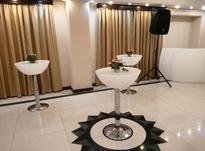 میز سوارز پایه استیل عمیق ایستاده نوری بلند بلکلایت ال ای دی در شیپور-عکس کوچک