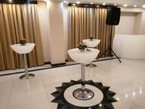 میز سوارز پایه استیل عمیق ایستاده نوری بلند بلکلایت ال ای دی در شیپور