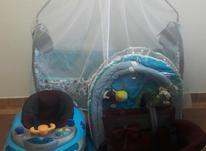 ست تخت نوزاد و کریر و توشک بازی و روروئک در شیپور-عکس کوچک