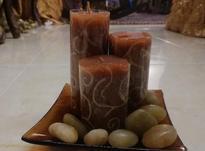شمع سه تایی دکوری در شیپور-عکس کوچک