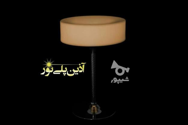 میز سوارز بلند پایه استیل سکه ای ایستاده نوری بلکلایت led در گروه خرید و فروش لوازم خانگی در تهران در شیپور-عکس3