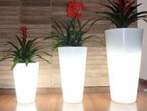 یخدان یا گلدان نوری ریموت دار (سه عدد)  در شیپور