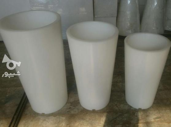 یخدان یا گلدان نوری ریموت دار (سه عدد)  در گروه خرید و فروش لوازم خانگی در تهران در شیپور-عکس2