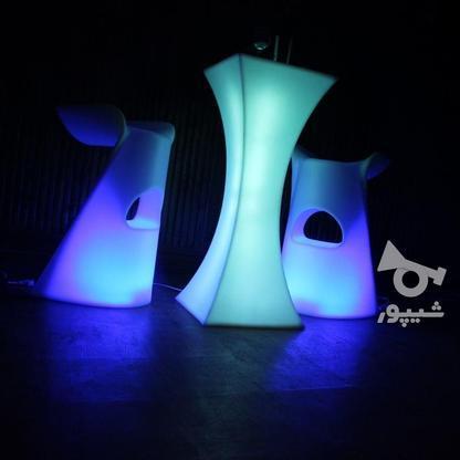 صندلی سوارز نوری بلکلایت بلند پلاستیکی بار و اپن ایستاده   در گروه خرید و فروش صنعتی، اداری و تجاری در تهران در شیپور-عکس4