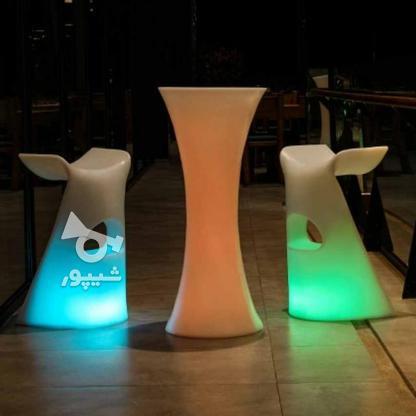 صندلی سوارز نوری بلکلایت بلند پلاستیکی بار و اپن ایستاده   در گروه خرید و فروش صنعتی، اداری و تجاری در تهران در شیپور-عکس2