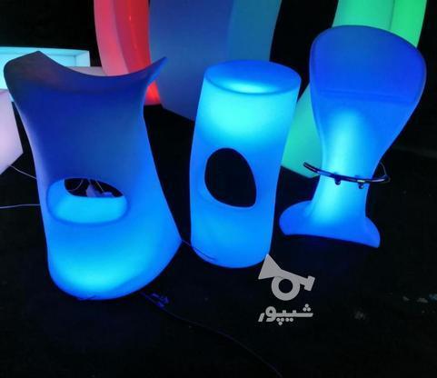 صندلی سوارز نوری بلکلایت بلند پلاستیکی بار و اپن ایستاده   در گروه خرید و فروش صنعتی، اداری و تجاری در تهران در شیپور-عکس5