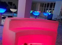 میز بار سوارز کانتر عرض 160 بلک لایت نورانی ال ای دی بلکلایت در شیپور-عکس کوچک