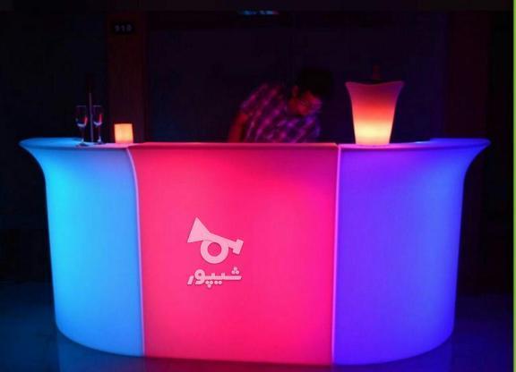 میز کانتر بار سوارز چند تکه قسمت وسط نوری ال ای دی بلک لایت در گروه خرید و فروش صنعتی، اداری و تجاری در تهران در شیپور-عکس5