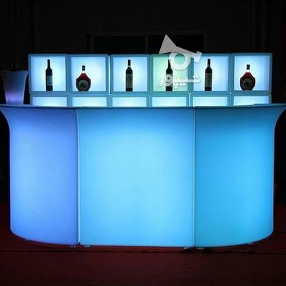 میز کانتر بار سوارز چند تکه قسمت وسط نوری ال ای دی بلک لایت در گروه خرید و فروش صنعتی، اداری و تجاری در تهران در شیپور-عکس6