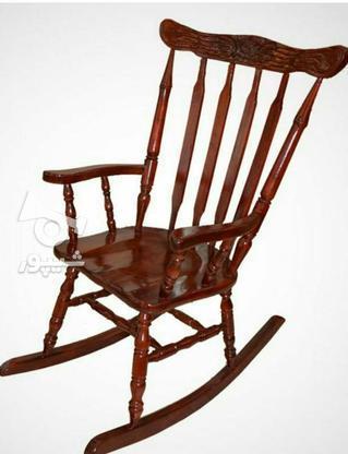 صندلی راک یا صندلی مادر بزرگ در گروه خرید و فروش لوازم خانگی در آذربایجان شرقی در شیپور-عکس1
