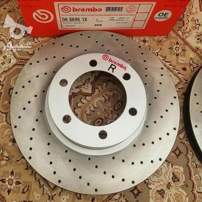 دیسک ترمز سوراخدار فوق خنک شونده برمبو ساخت ایتالیا  در گروه خرید و فروش وسایل نقلیه در تهران در شیپور-عکس6