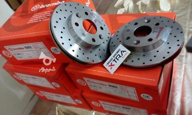 دیسک ترمز سوراخدار فوق خنک شونده برمبو ساخت ایتالیا  در گروه خرید و فروش وسایل نقلیه در تهران در شیپور-عکس8