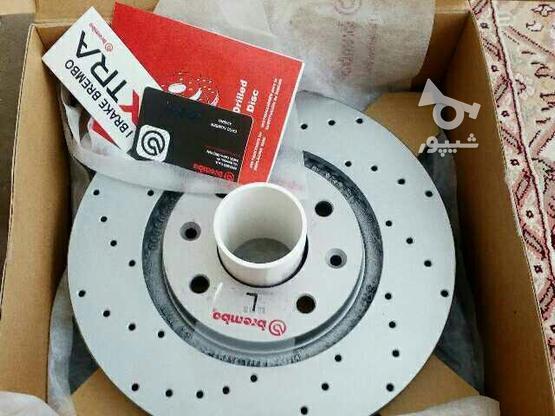 دیسک ترمز سوراخدار فوق خنک شونده برمبو ساخت ایتالیا  در گروه خرید و فروش وسایل نقلیه در تهران در شیپور-عکس1