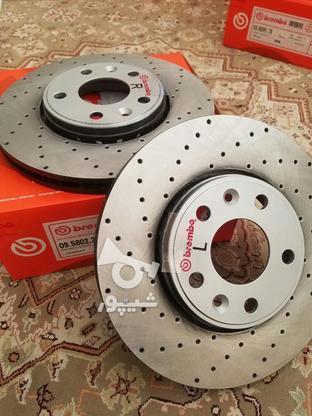 دیسک ترمز سوراخدار فوق خنک شونده برمبو ساخت ایتالیا  در گروه خرید و فروش وسایل نقلیه در تهران در شیپور-عکس5
