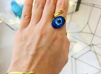 ست دستبند و انگشتر طرح چشم نظر در شیپور-عکس کوچک