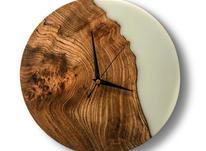 ساعت دیواری چوب و رزین در شیپور-عکس کوچک