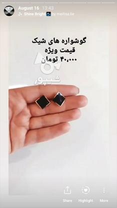 گوشواره تیتانیوم درجه یک در گروه خرید و فروش لوازم شخصی در تهران در شیپور-عکس2