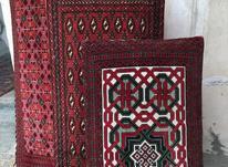 سه جفت پشتی ترکمن در شیپور-عکس کوچک