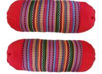 کوسن گرد سنتی بسته ی دوتایی قرمز در شیپور-عکس کوچک