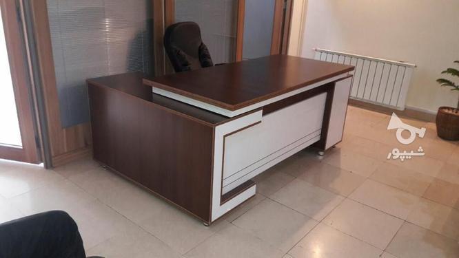 میز مدیریت الدار مدل لیندا در گروه خرید و فروش صنعتی، اداری و تجاری در تهران در شیپور-عکس1