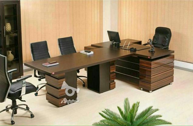 میز مدیریت و کنفرانس پرنیا در گروه خرید و فروش صنعتی، اداری و تجاری در تهران در شیپور-عکس1