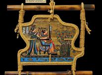 ساعت دیواری مدل نیل (زمینه پاپیروس ) در شیپور-عکس کوچک